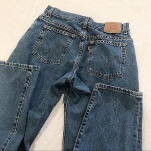Vintage | Levi's 550 High Waisted Mom Jeans